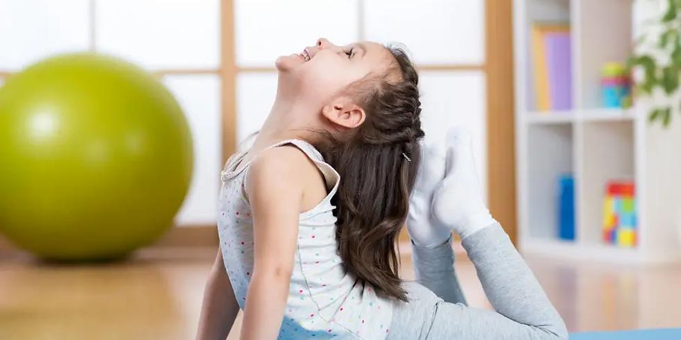 1, 2, 3 : Yoga ! (pour les 4 à 10 ans)