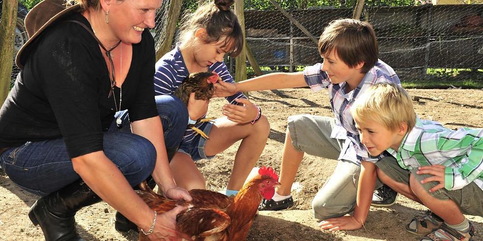 Les Enfants Terribles en vadrouille à la ferme et en forêt