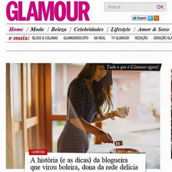Bolo da Madre Glamour