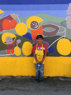 Mural Painting volunteer