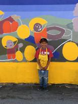Mural Painting volunteer