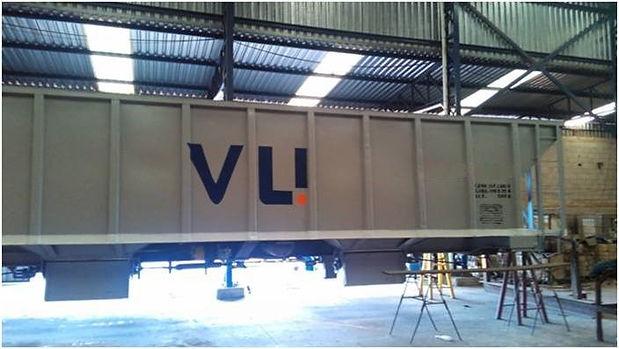 Serviços de caldeiraria e soldagem de vagões de carga geral, recuperação de peças e componentes de vagões, recuperação de vagões acidentados