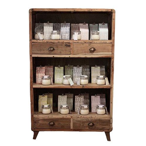 Shelf Display - Recycled Wood