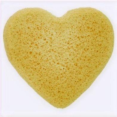 Konjac Heart Sponge - Peach