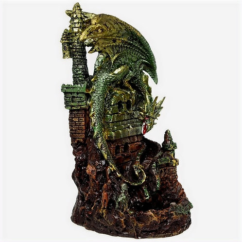 Dragon Castle LED Backflow Incense Burner