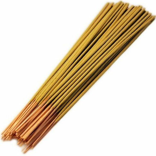 50 Loose Indian Incense Sticks - Honeysuckle - Hand rolled