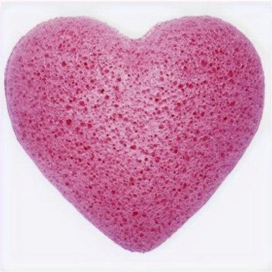 Konjac Heart Sponge - Lavender