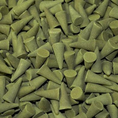 Bulk Incense Cones - Tulsi Basil (Approx. 850)