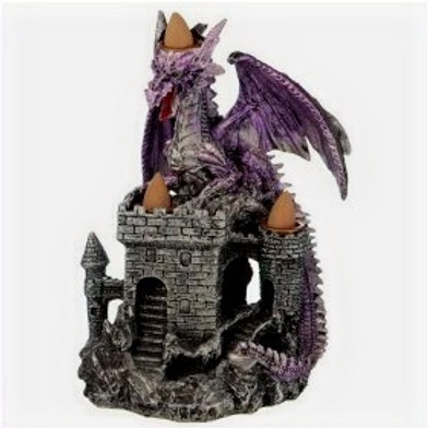 Dragons Castle Triple Backflow Incense Burner
