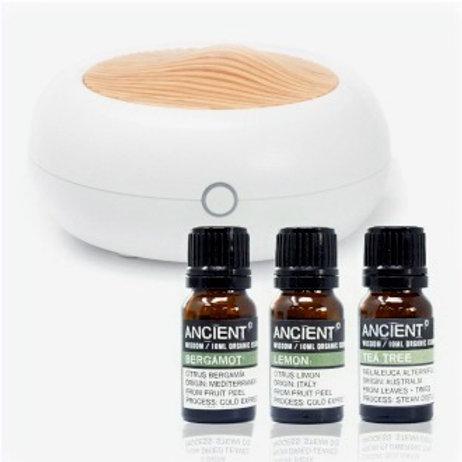 Norwegian Aroma Diffuser & Organic oils Set