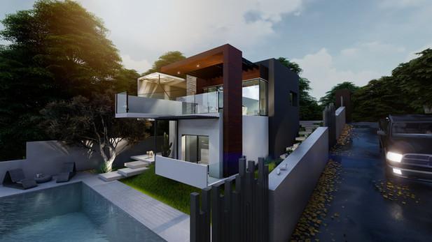 Νέα διώροφη κατοικία
