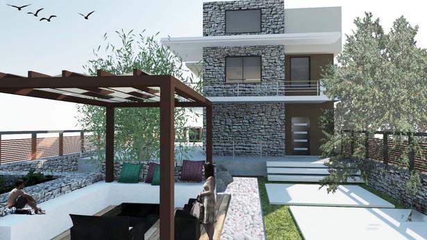 Διώροφη μονονατοικία με σοφίτα | Αιάντειο