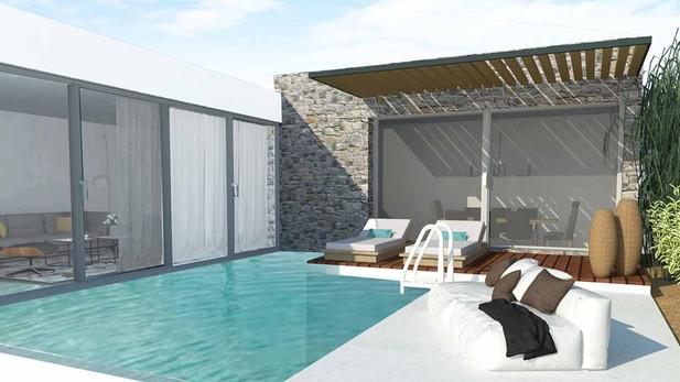 Εξοχική κατοικία με πισίνα