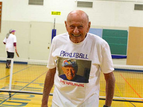 IN THE NEWS, LAKE OSWEGO REVIEW: LO's Prince of Pickleball