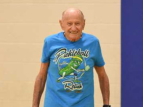 IN THE NEWS, LAKE OSWEGO REVIEW: Pickleball could be the secret to a long and healthy life
