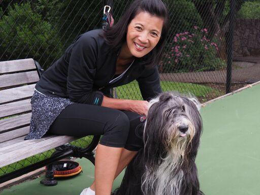 Cynthia promotes Baxter as the Club mascot