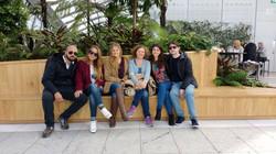 Reencuentro con familia en Londres