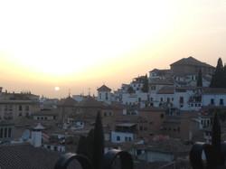 Atardecer en Granada
