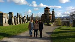 Cementerio en Glasgow, Escocia
