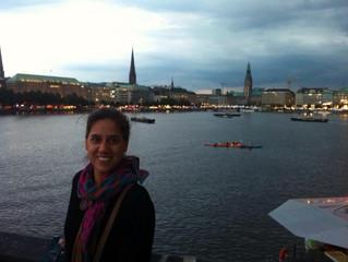 Con amor de viajeros, desde Hamburgo