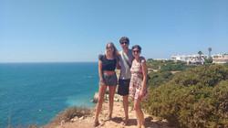 Reencuentro hermana en Portugal