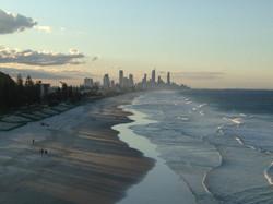 Gold Coast desde lejos