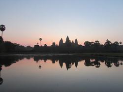 Amanecer en el templo de Angkor