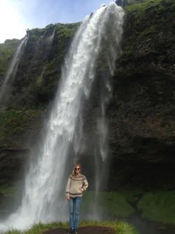 Otra cascada en Islandia