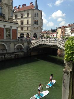 Stand up Paddle en Liubliana