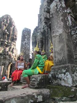 Vestidos típicos camboyanos
