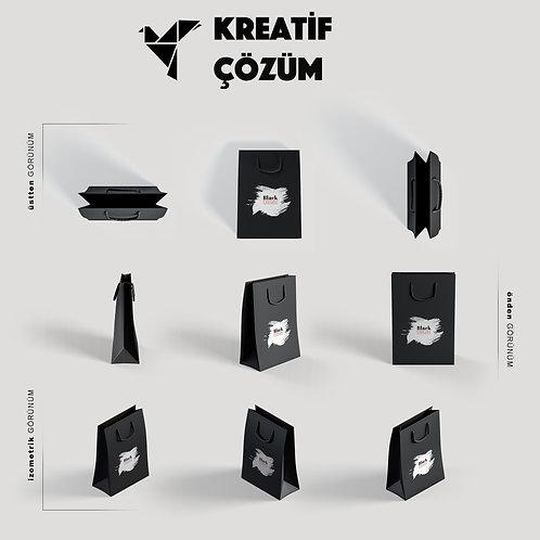 Karton Çanta ( İpli )
