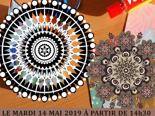 Atelier Mandala le mardi 14 mai