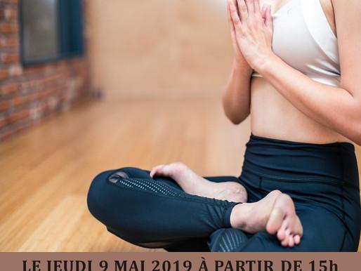 Atelier Yoga du rire le mardi 7 mai
