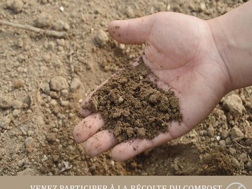 Récolte collective de compost à la MJC - EVS mardi 9 avril de 16h30 à 19h