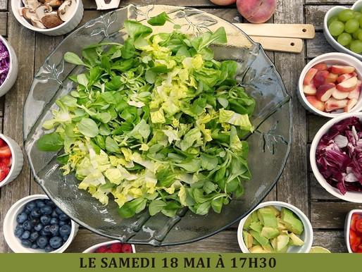 Salade contée le samedi 18 mai
