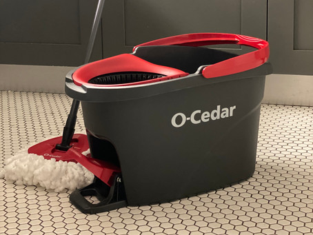 Product Review: O-Cedar® EasyWring Microfiber Spin Mop & Bucket System