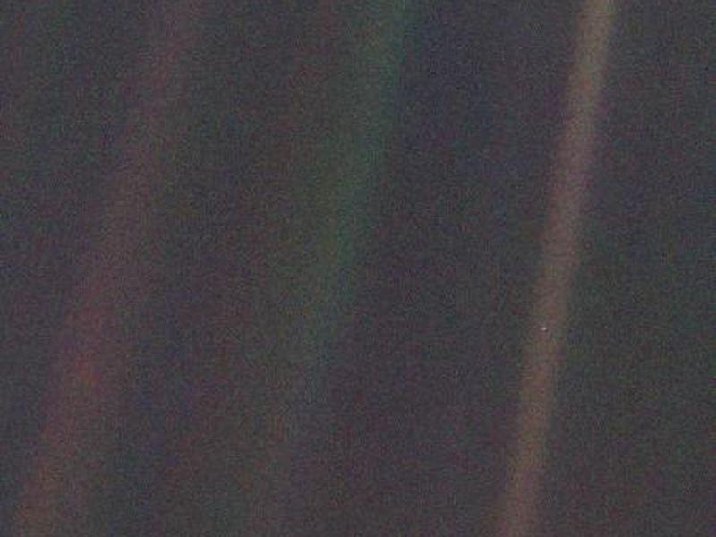 Pale Blue Dot Image
