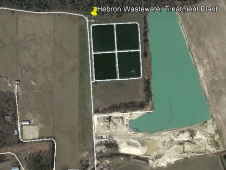 Public Hearing coming up for the Hebron Wastewater Treatment Plant discharge permit renewal.