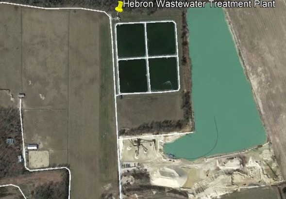 Hebron WWTP discharge permit gets approved.