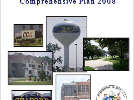 City of Seaford is looking for public comments on their comprehensive plan update.
