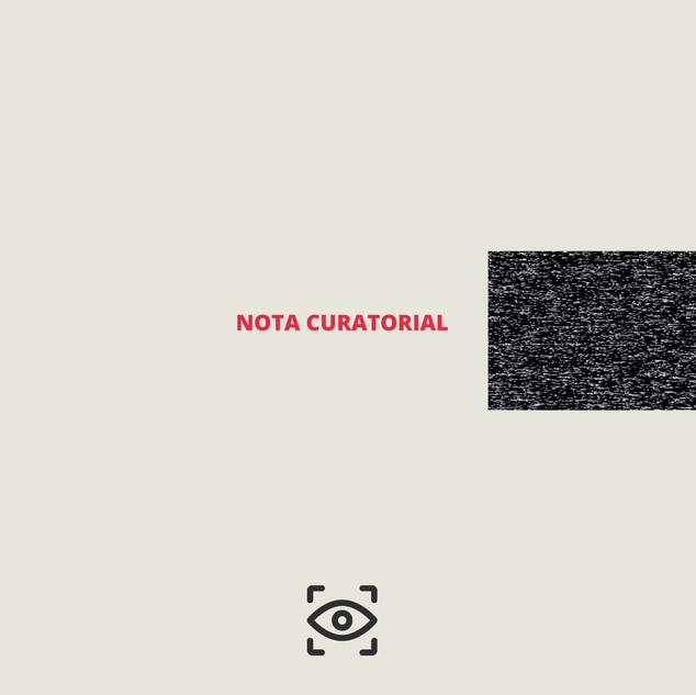 Nota Curatorial