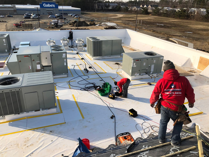 Commercial Roofing - Champion Exterior