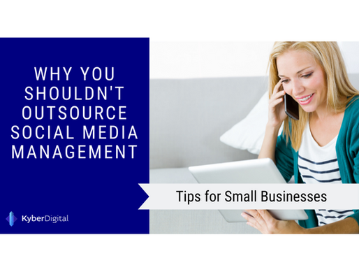 Why You Shouldn't Outsource Social Media Management