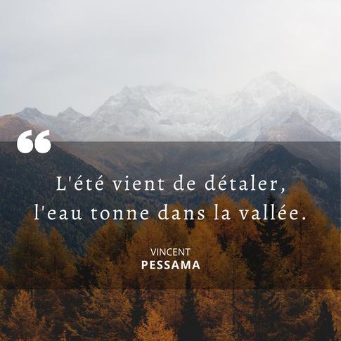 Citation automne Pessama