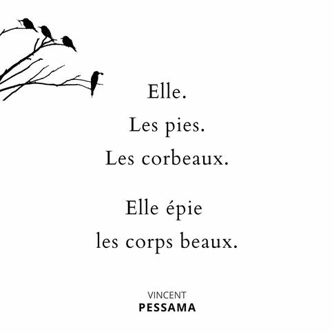 Vincent Pessama poesie