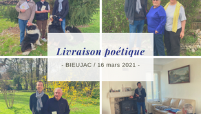 Livraison poétique à Bieujac