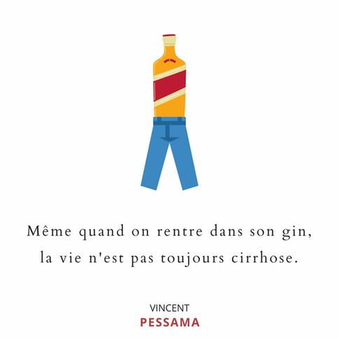 Citation calembour Vincent Pessama