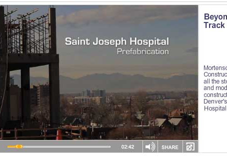 Beyond Fast Track Healthcare Construction Video