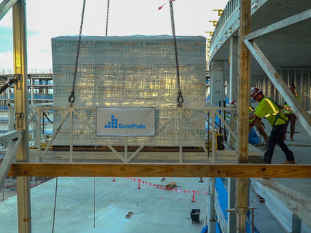 Technical Spotlight #3: Prefab Bathroom Pod Delivery and Load-In