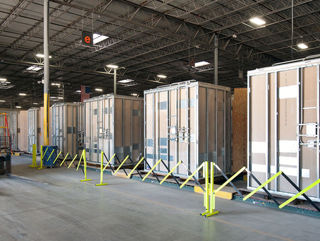 Behind the scenes in our modular bathroom factory
